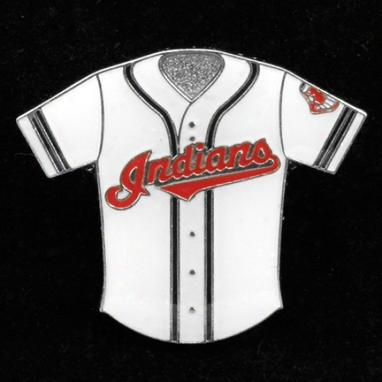 Cleveland Indians Cap : Cleveland Indians Team Jersey Pin