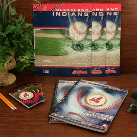 Cleveland Indians Combo School Pack