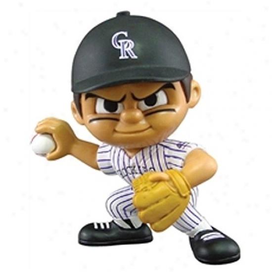 Colotado Rockies Lil 'Teammates Jug Figurine