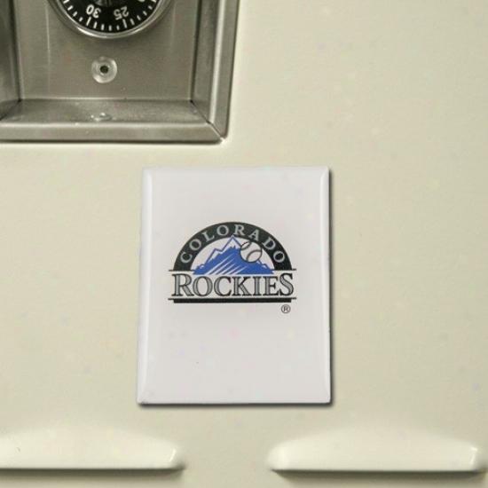 Colorado Rockies Team Magnet