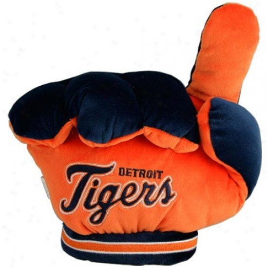 Detroit Tiges #1 Plush Fan Palm