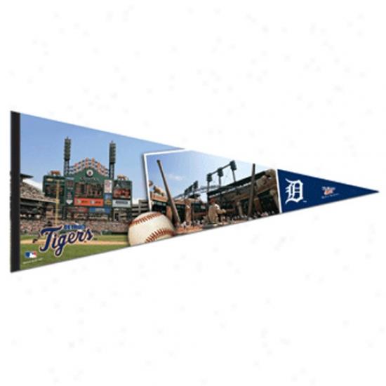 Detroit Tigers 17'' X 40'' Baseball Stadium Felt Pennant
