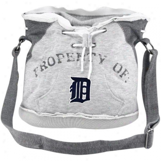 Detroit Tigers Ash Hoody Tote Bag