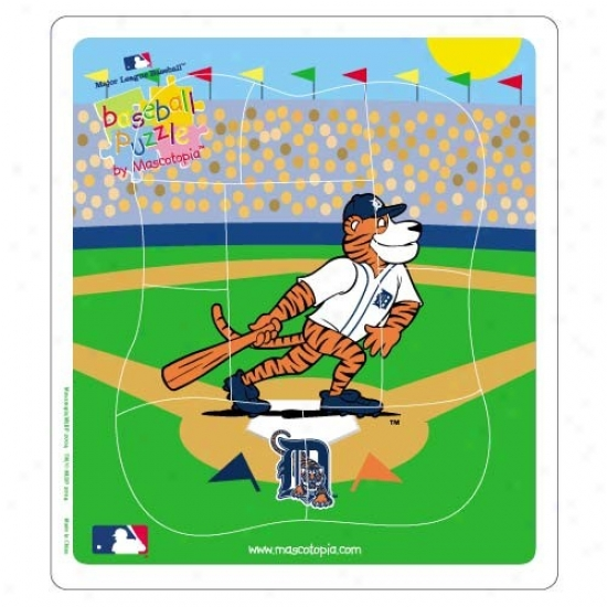 Detroit Tigers Baseball Puzzle