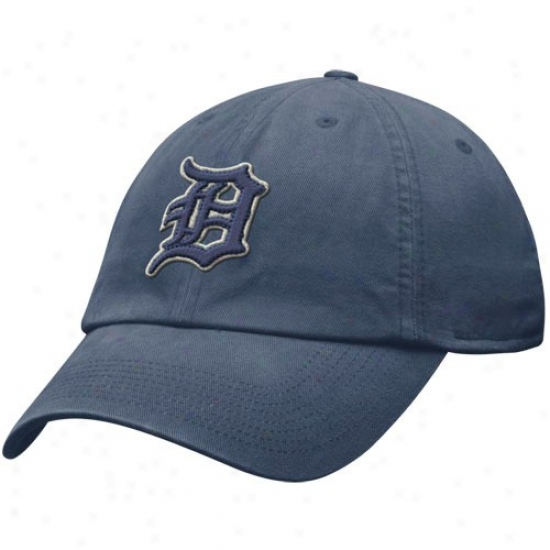 Ddtroit Tigers Gear: Nkie Detroit Tigers Ships of war Blue Relaxed Fit Hat