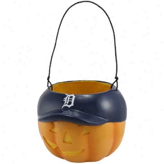 Detroit Tigers Halloween Pumpkin Bucket