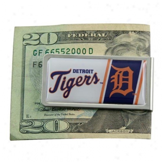 Detroit Tigers Mlb Wealth Clip