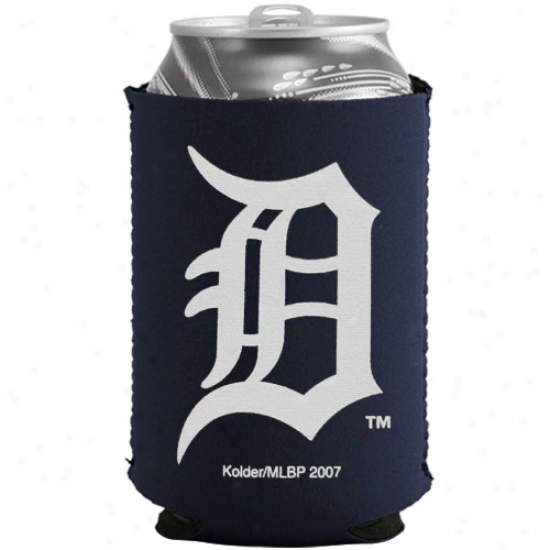 Detroit Tigers Navy Blue Collapsible Can Coolie