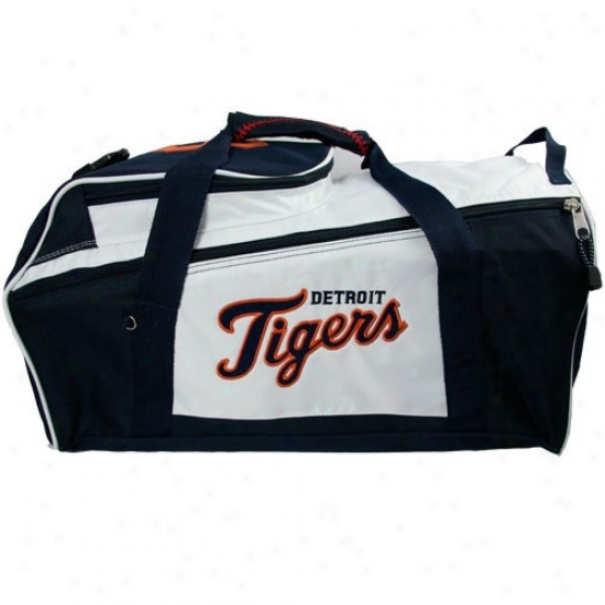 Detroit Tigers Nylon Mlb Duffel Bag