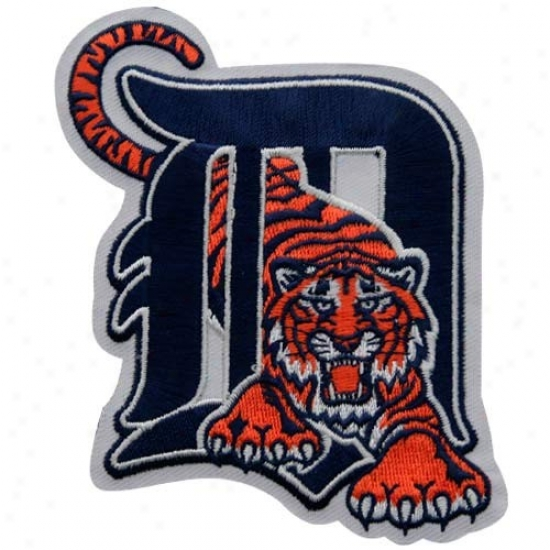 Detroit Tigers Primary Logo Embroidered Collector Patch