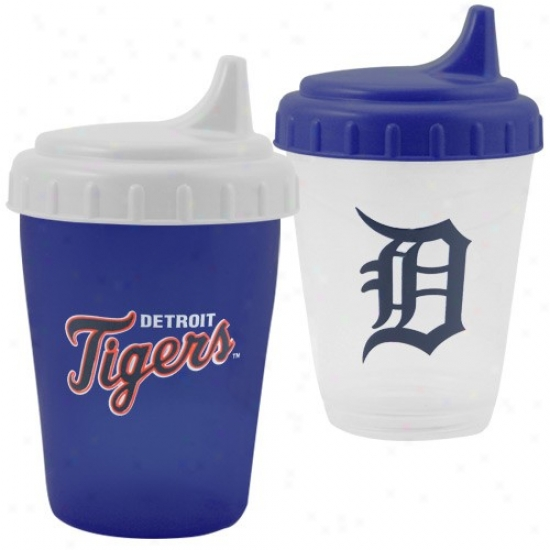 Detroit Tigers Two Pack Dripless Sippy Cup