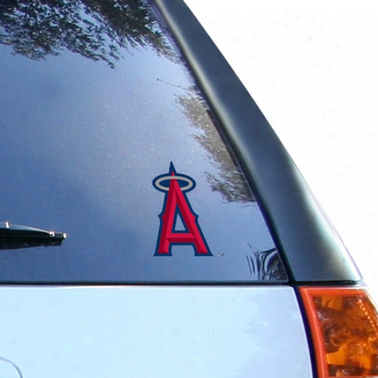 Express Anaheim Angels Small Window Cling