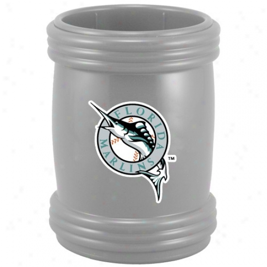 Florida Marlins Grey Magna-coolie Magnetic Beverage Holder