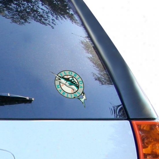 Florida Marlins Small Window Cling