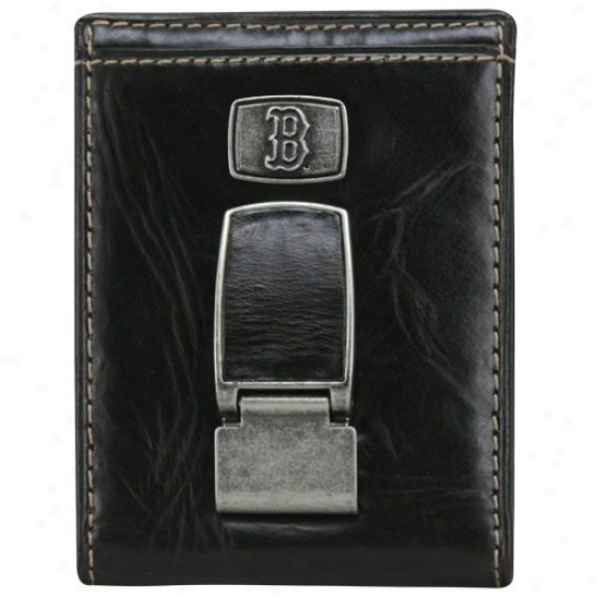Fossil Boston Red Sox Front Pocket Wallet