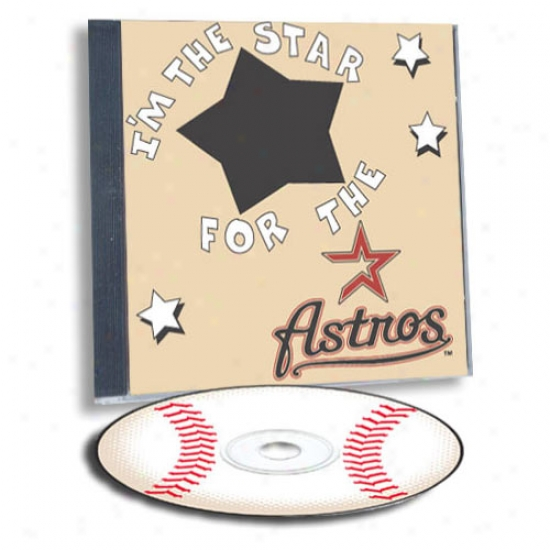 Houston Astros Game Hero Custom Sports Cd
