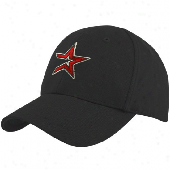 Houston Astris Merchandise: Twins '47 Houston Astros Infant Black Basic Logo Adjustable Hat