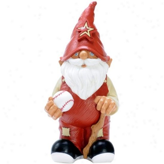 Houston Astros Mini Baseball Gnome Figurine