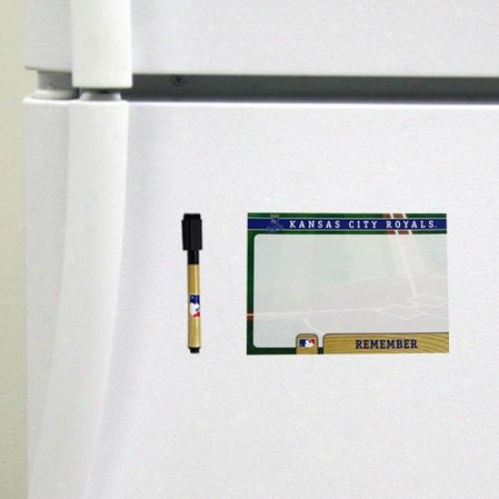 Kansas City Royals 4-pack Magnetic Dry-erase Boards