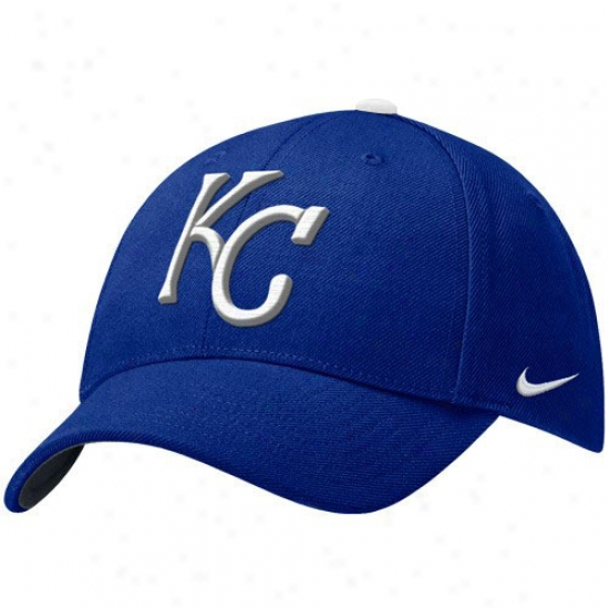 Kansas City Royals Cap : Nike Kansas City Royals Royal Blue Wool Classic Cap