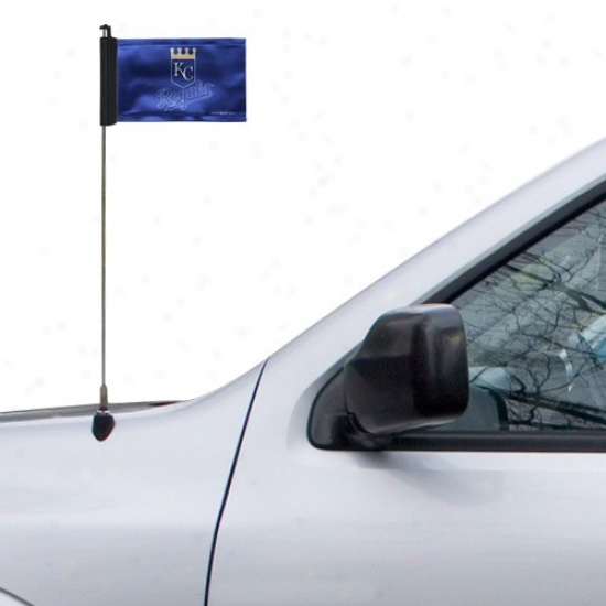 Kansas City Royals Flags : Kansas City Royals Royal Blue Antenna Flags
