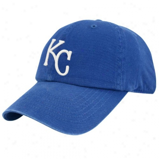Kansas City Royals Gear: Twins Undertaking Kansas City Royals Royal Blue Franchise Fitted Hat