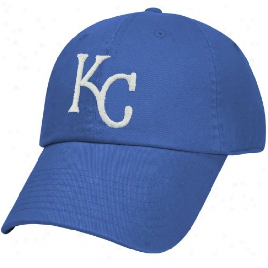 Kansas City Royals Hat : Nike Kansas City Royals Royal Blue Relaxed Adjustable Hat
