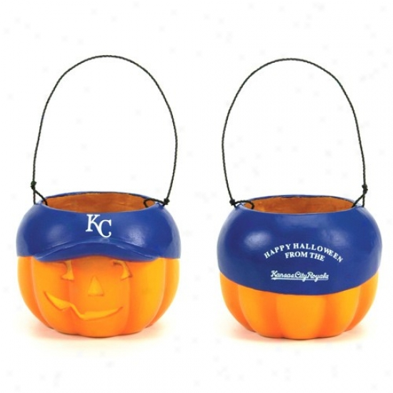 Kansas City Royals Pumpkin Bucket