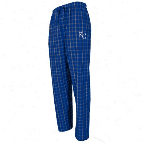 Kansas City Royals Royal Blue Division Pajama Pants