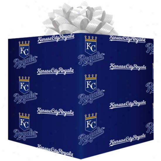 Kansas City Royals Teamm Logo Gift Wrap Paper