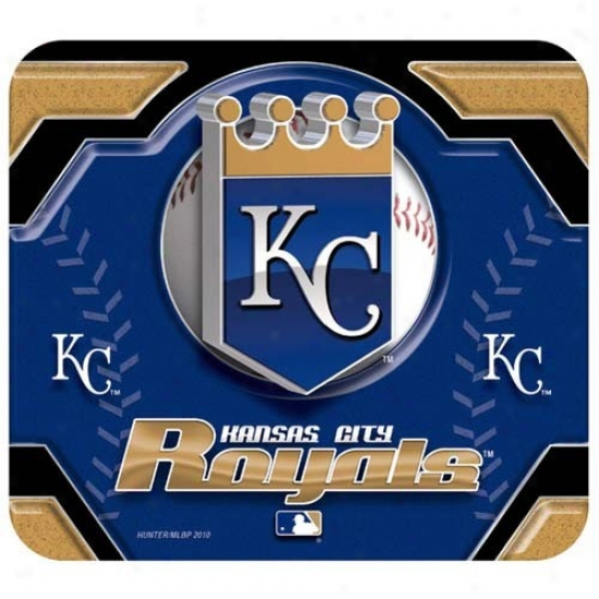 Kansas City Royals Team Logo Neoprene Mousepad
