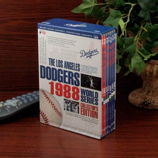 L.a. Dodgers 1988 World Series Collector's Edition 7-disc Dvd Set