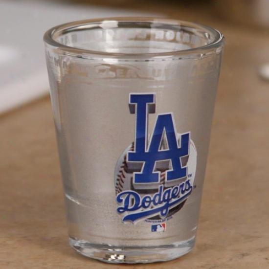L.a. Dodgers 2 Oz. Enhanced Hi-def Shot Glass