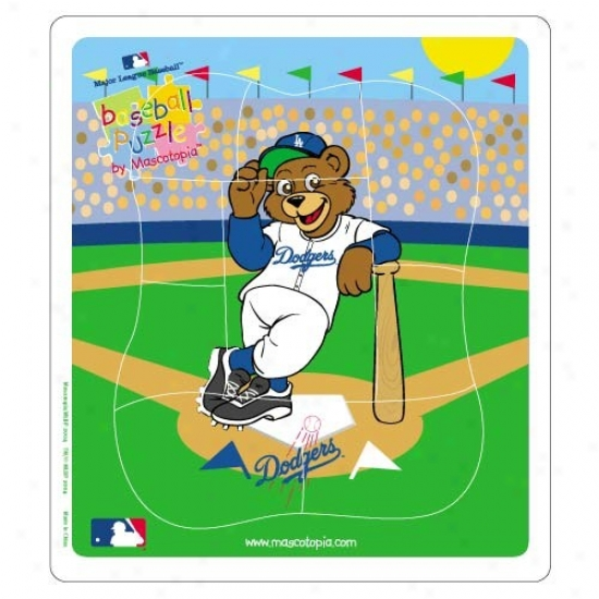 L.a. Dodgers Baseball Puzxle
