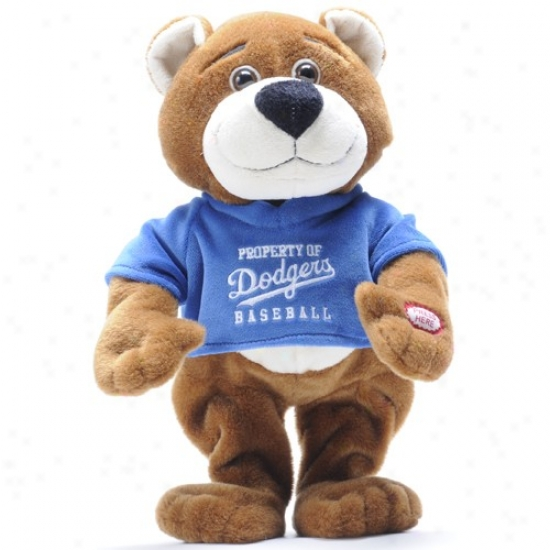 L.a. Dkdgers Dancing Mlb Bear