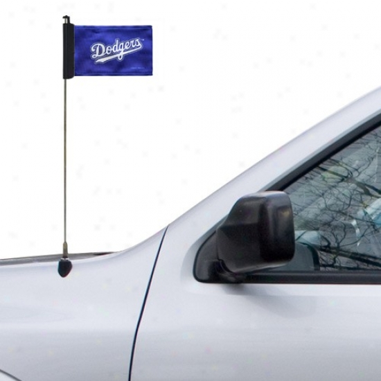 L.a. Dodgers Flag : L.a. Dodgers Royal Blue Ant3nna Flag