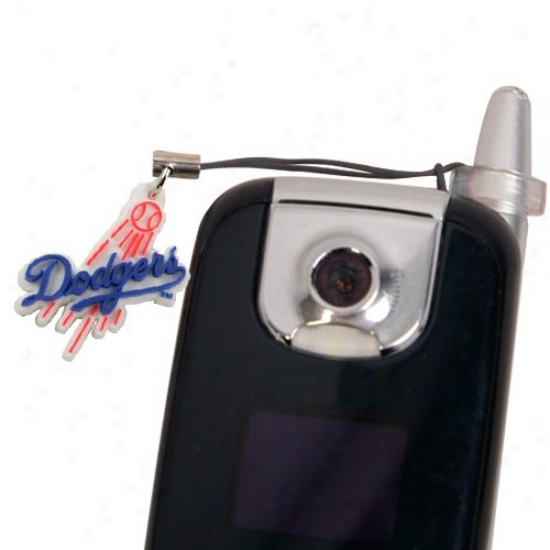 L.a. Dodgers Hanging Small room Phone Charm