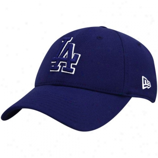 L.a. Dodgers Hat : New Era L.a. Dodgers Royal Blue Team Tonal 39thirty