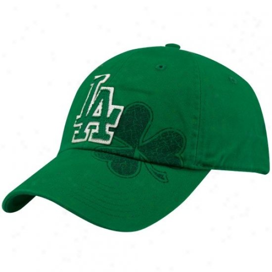 L.a. Dodgers Hat : Nike L.a. Dodgers Kelly Green St. Patrick's Day Campus Adjustable Hat