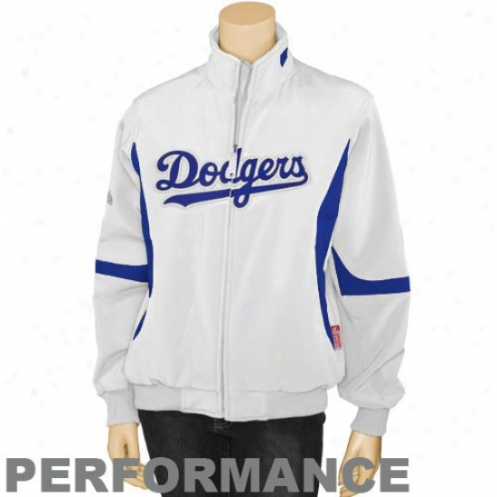 L.a. Doodgers Jackets : August L.a. Dodgers Ladies White Therma Base Premier Performance Jackets