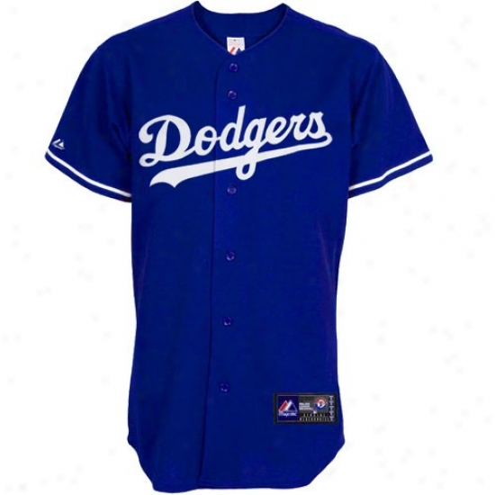 L.a. Dodgers Jerseys : Majestic L.a. Dodgers Replica Jersey-royal Blue