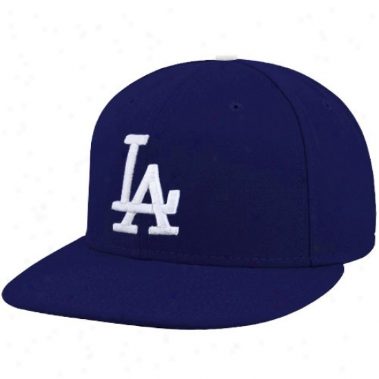 L.a. Dodgers Merchandise: New Point of time L.a. Dodgers Yluth Royal Blue Blue On-field 59fifty Fitted Hat