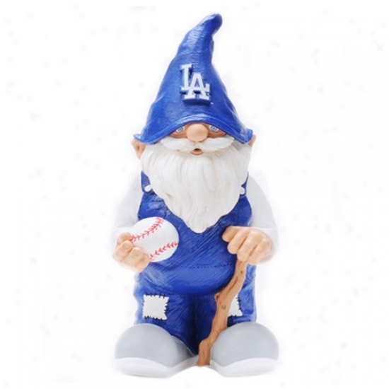 L.a. Dodgers Mini Baseball Gnome Figurine