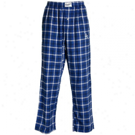 L.a. Dodgers Royal Blue Tailgate Pajama Panfs
