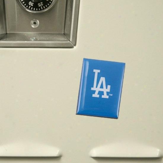 L.a. Dodgers Royal Blue Team Logo Magnet