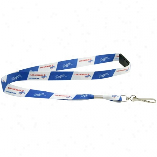 L.a. Dodgers Royal Blue-white Evennt Lanyard