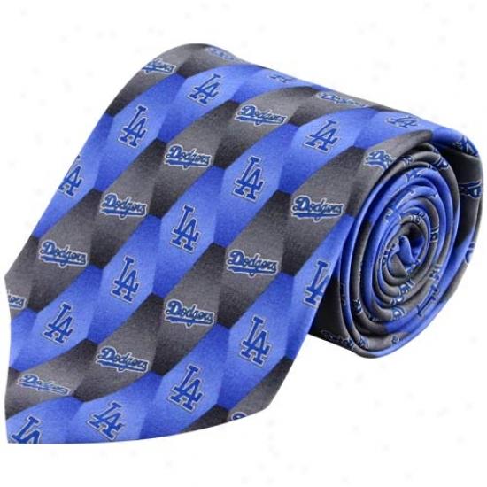L.a. Dodgers Silk Specimen 1 Tie