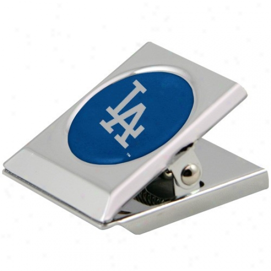L.a. Dodgers Silver Magnetic Heavy Duty Chip Clip