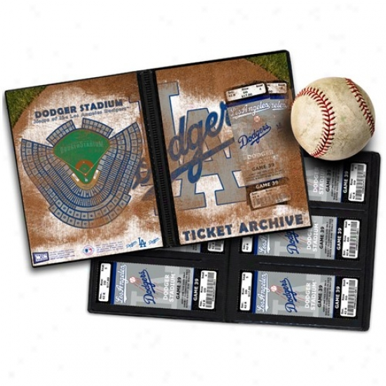 L.a. Dodgers Ticket Archive Book