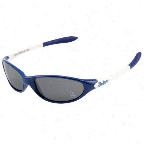 L.a. Dodgers Youth Colorblock Sport Sunglasses